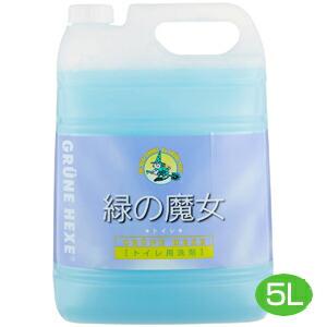 おすすめ商品 生活雑貨 ついで買いに 入荷予定 緑の魔女 35%OFF トイレ トイレ用洗剤 ミマスクリーンケア JAN:4902875000436 業務用 5L