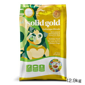 【PET】【送料無料】【正規品】ソリッドゴールド ホリスティックブレンド(成犬 老犬用) 12.9kg (093766110281)【T】