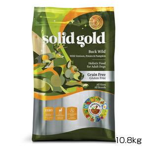 【PET】【送料無料】【正規品】ソリッドゴールド バックワイルド(成犬 老犬用) 10.8kg (093766163249)【T】