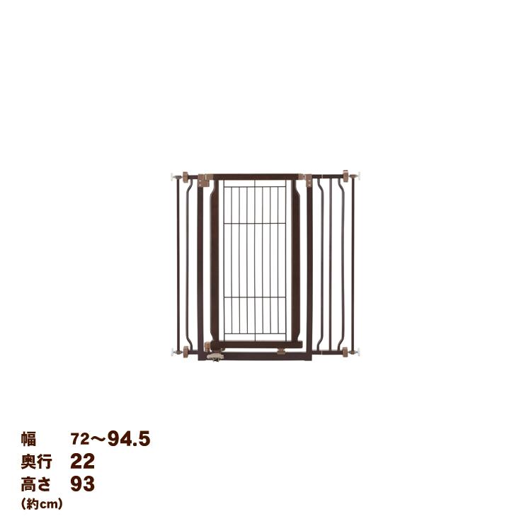 [ペット ゲート フェンス ゲート]リッチェル 木製ハンズフリーゲート [EC]【D】[ペットゲート ペットフェンス シンプル おしゃれ お洒落 可愛い かわいい ペットゲート 間仕切り]