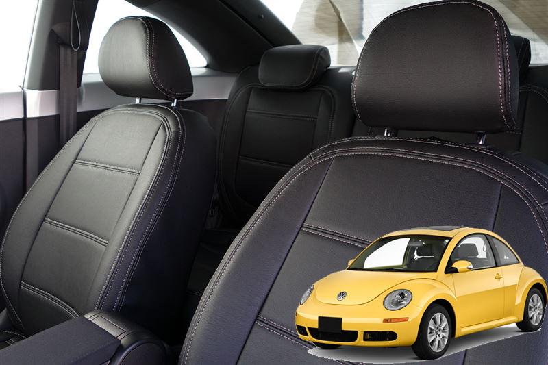 vw フォルクスワーゲン ニュービートル クーペ H17.10~ オーダーメイド シートカバー AW フルセット 本革 New Beetle シートカバー 車内用