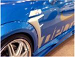 BMW MINI R56 サイドパネル カーボン ミニ エアロパーツ