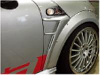 BMW MINI R56 サイドパネル FRP ミニ エアロパーツ