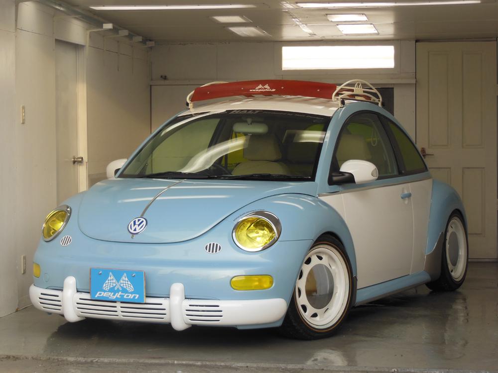 vw フォルクスワーゲン ニュービートル クラシックバンパーTypeS (塗装ベース) 前期用 Full set10pcs New Beetle エアロパーツ