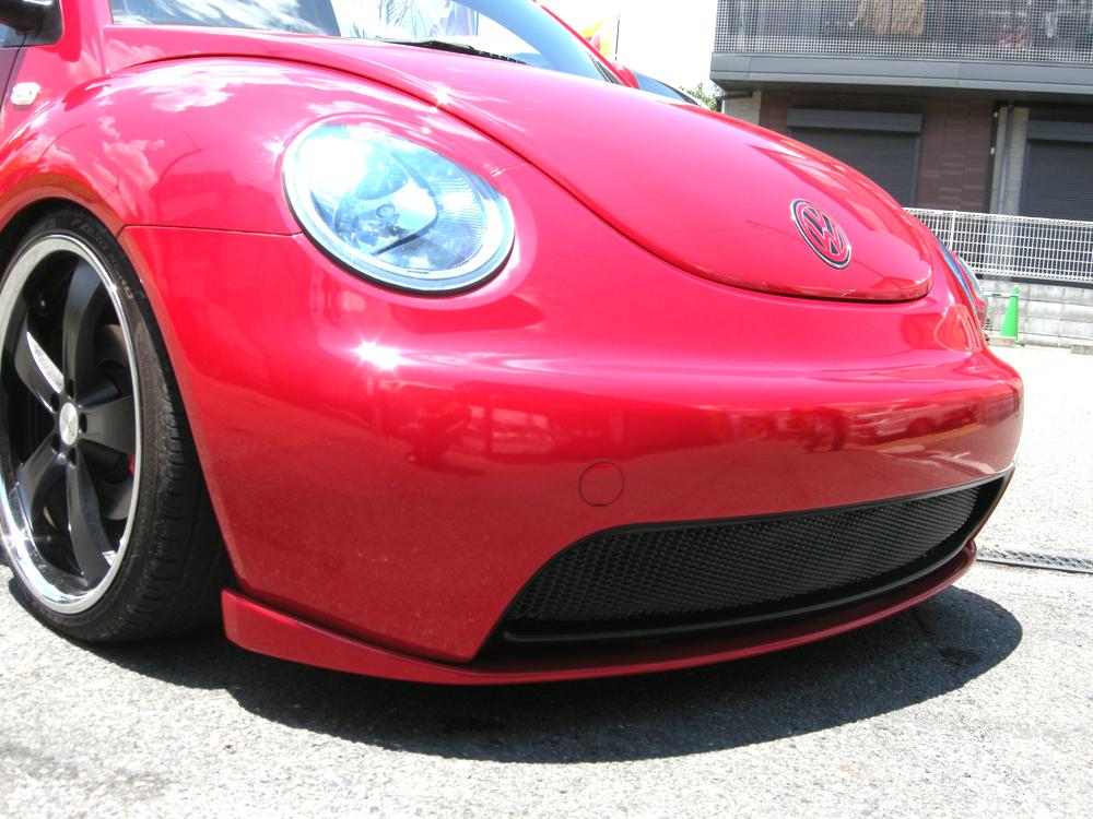 vw フォルクスワーゲン ニュービートル F/H DTMフロントリップスポイラー (FRP) New Beetle エアロパーツ