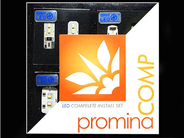 vw フォルクスワーゲン トゥーラン07-10 TOURAN PMC621 PROMINA COMP LED Aセットフルインストールキット (2007-2010年式) peyton市場店