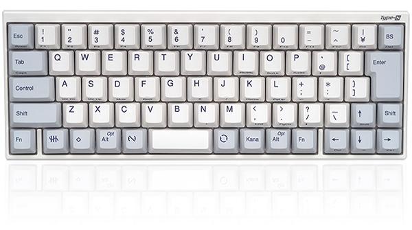 PFU製 Happy Hacking Keyboard Professional JP Type-S 日本語配列/白 PD-KB420WS/キーボード PC コンパクト 静音 テンキー無
