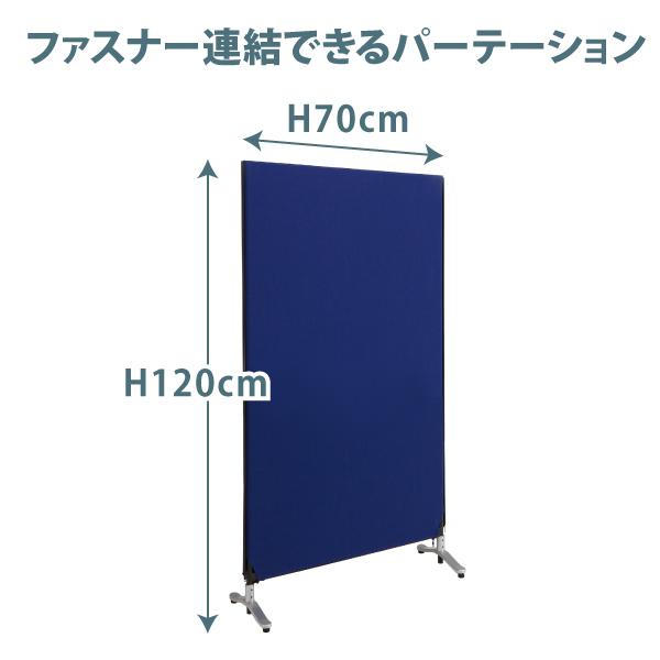 【ZIP LINK2】幅70×高さ120cm ジップリンクパーテーション パーティション ファスナー連結パネル 洗えるパーティション