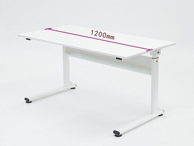 【送料・代引き手数料が無料!】FLIFT 昇降デスク W1200 22-001MH-2 リフティングテーブル テーブル デスク 昇降式 ハンドル 手動