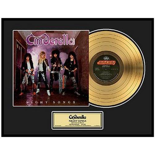 CINDERELLA シンデレラ - Night Songs / GOLD DISC / インテリア額 【公式 / オフィシャル】