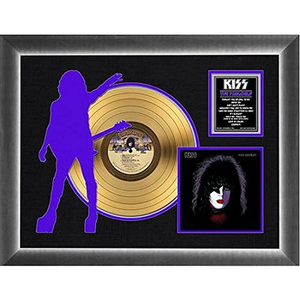 KISS キッス (End of the Road Tour ) - Paul Stanley Solo Album / GOLD DISC / インテリア額 【公式 / オフィシャル】