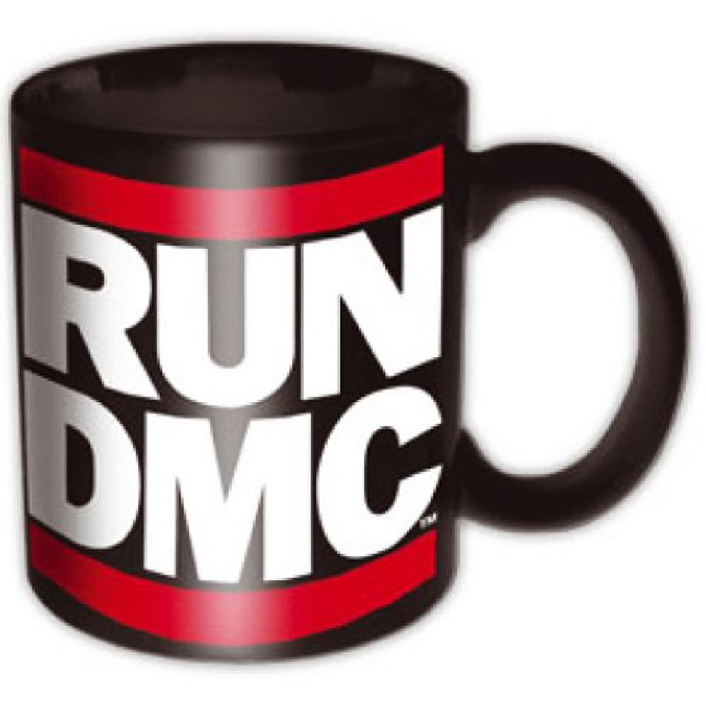 RUN DMC ランディーエムシー - Logo Black / マグカップ
