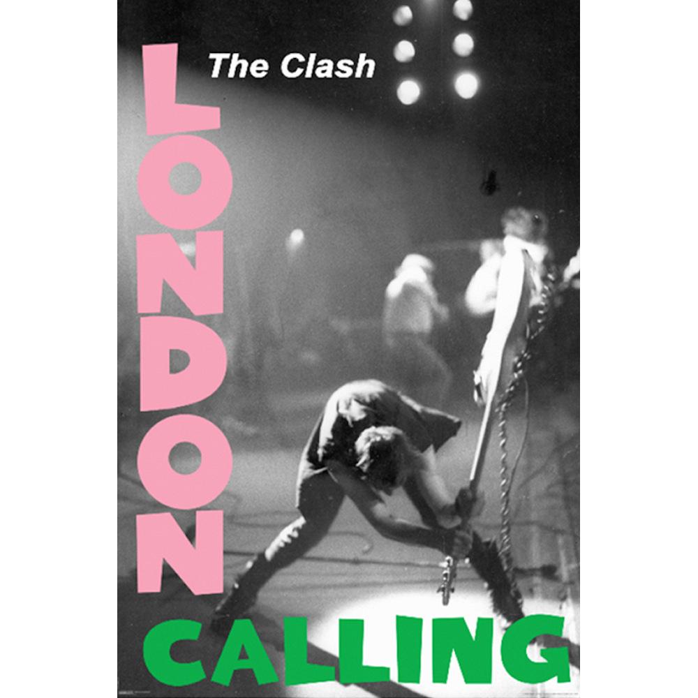 RockEntertainment公式グッズ 正規ライセンスアイテム 安い CLASH ザ クラッシュ 結成45周年 London オフィシャル - Calling 激安価格と即納で通信販売 ポスター 公式