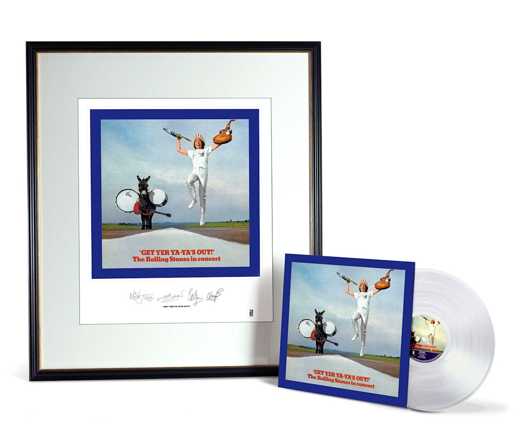ROLLING STONES ローリングストーンズ (ストーンズ展日本上陸記念 ) - Get Yer Ya-Ya's Out! / Clear Vinyl + Lithograph / CD・DVD・レコード