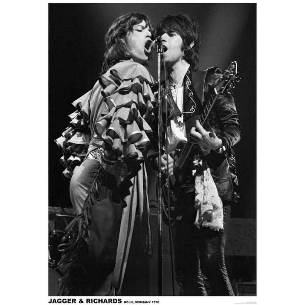 RockEntertainment公式グッズ 正規ライセンスアイテム ROLLING STONES 価格 交渉 送料無料 ローリングストーンズ 映画 GIMME SHELTER Richards 1976 Jagger 公式 - オフィシャル 公開50周年 ポスター SEAL限定商品