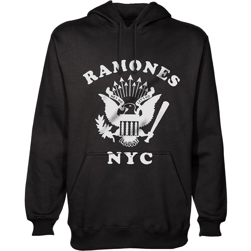 RAMONES ラモーンズ (結成45周年記念 ) - RETRO EAGLE NEW YORK CITY / スウェット・パーカー / メンズ 【公式 / オフィシャル】