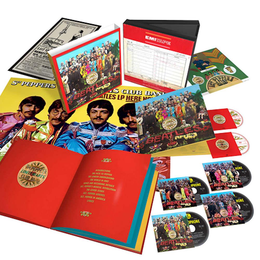 BEATLES ビートルズ サージェント・ペパーズ[スーパー・デラックス・ボックス・セット]【完全生産限定盤】 / 国内盤 / CD・DVD・レコード