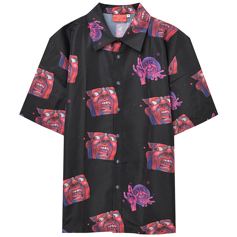 KING CRIMSON キングクリムゾン (デビュー50周年記念 ) - Schizoid Hawaiian Aloha Shirt / シャツ(襟付き) / メンズ 【公式 / オフィシャル】