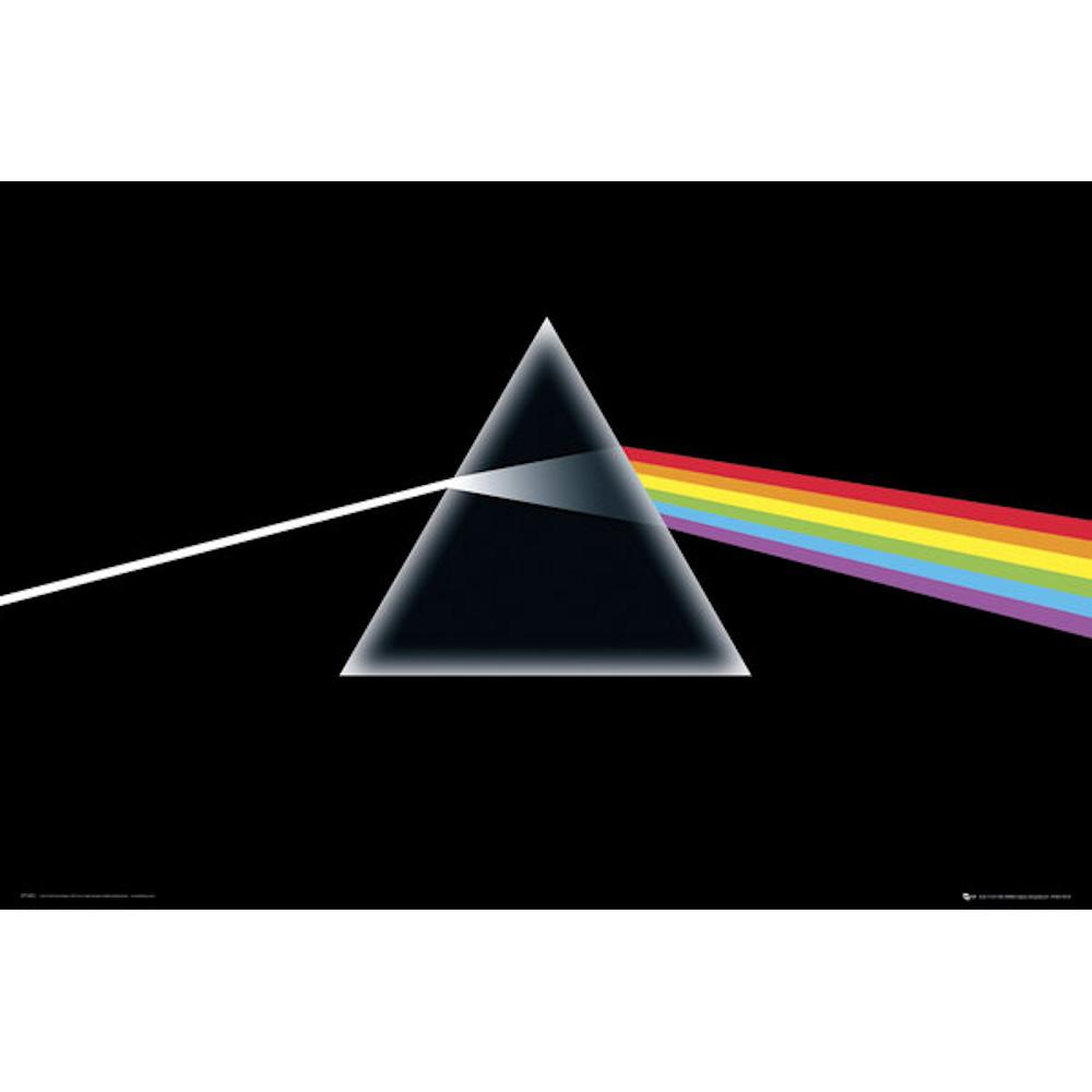 RockEntertainment公式グッズ 正規ライセンスアイテム PINK ファッション通販 マーケット FLOYD ピンクフロイド 初来日50周年記念 - Dark ポスター the 公式 of Side オフィシャル Moon
