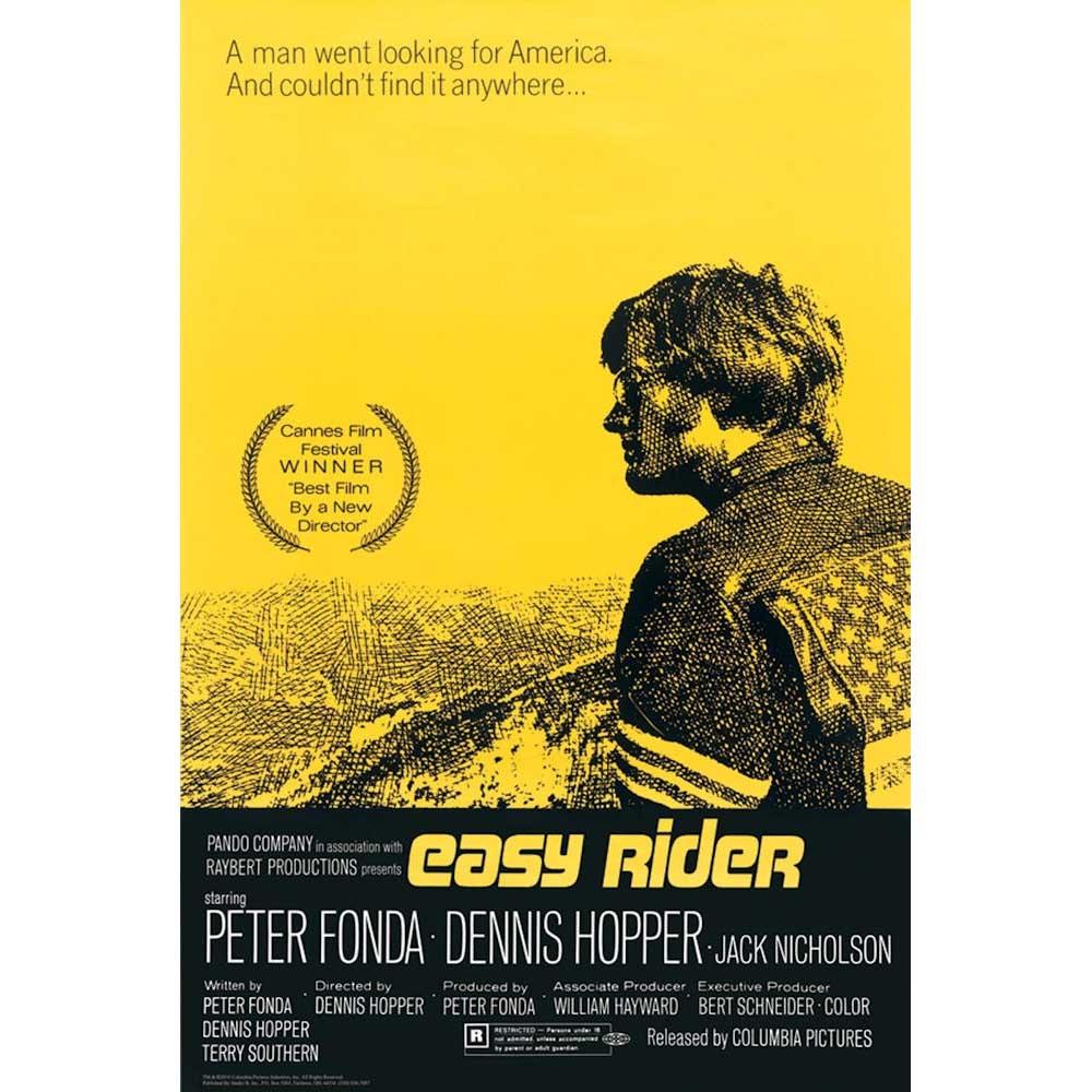 RockEntertainment公式グッズ 正規ライセンスアイテム EASY RIDER イージーライダー - 贈与 One ポスター 中古 Sheet オフィシャル 公式