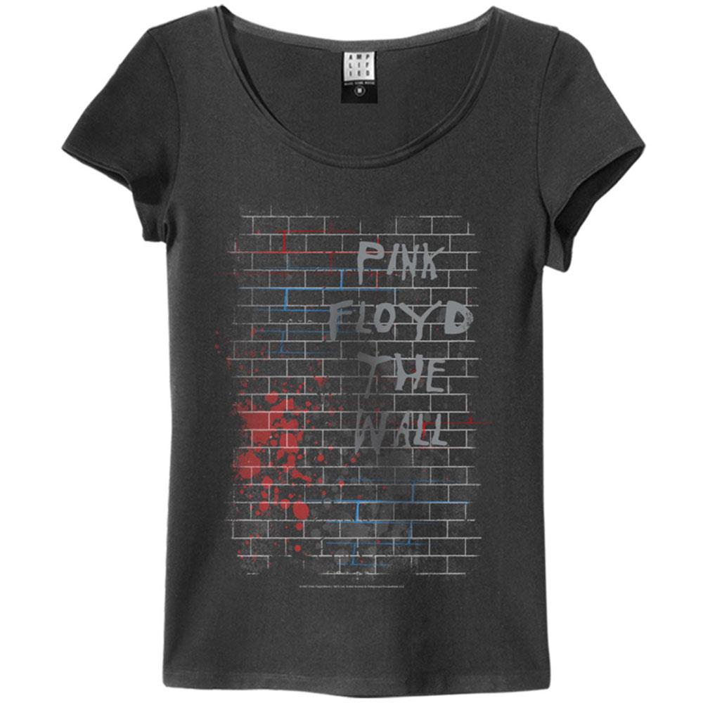 PINK FLOYD ピンクフロイド (The Wall40周年記念 ) - THE WALL / Amplified( ブランド ) / Tシャツ / レディース 【公式 / オフィシャル】