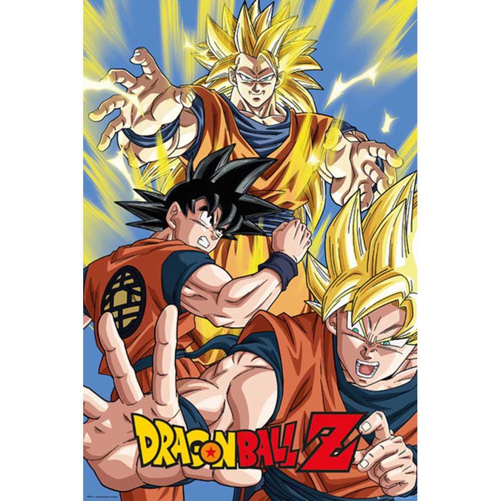 RockEntertainment公式グッズ 正規ライセンスアイテム 日本 DRAGON 贈り物 BALL ドラゴンボール 放送35周年記念 ポスター オフィシャル 公式 Goku -