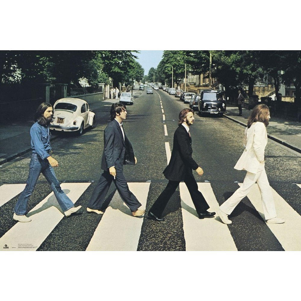 RockEntertainment公式グッズ 正規ライセンスアイテム BEATLES ビートルズ 来日55周年記念 - Abbey Road 好評受付中 ポスター 公式 ランキングTOP5 オフィシャル