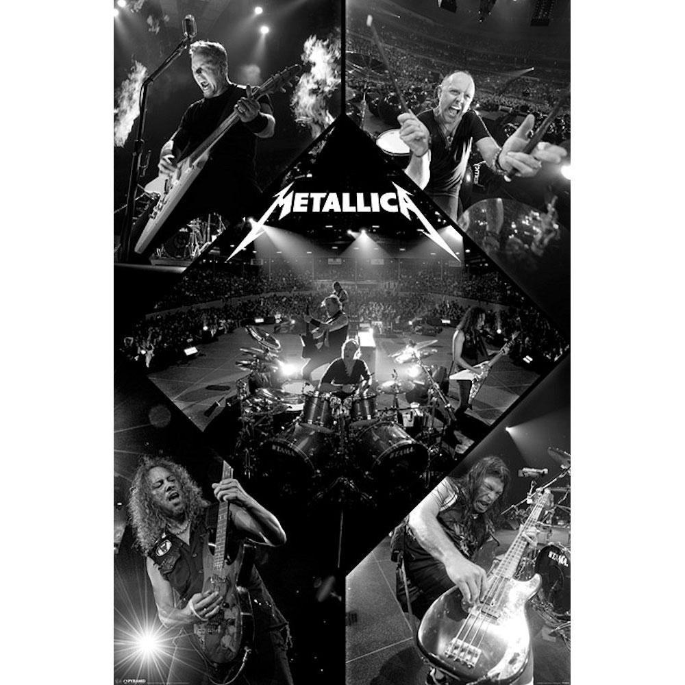 RockEntertainment公式グッズ 正規ライセンスアイテム METALLICA メタリカ 注目ブランド 結成40周年 - Live 豊富な品 ポスター オフィシャル 公式