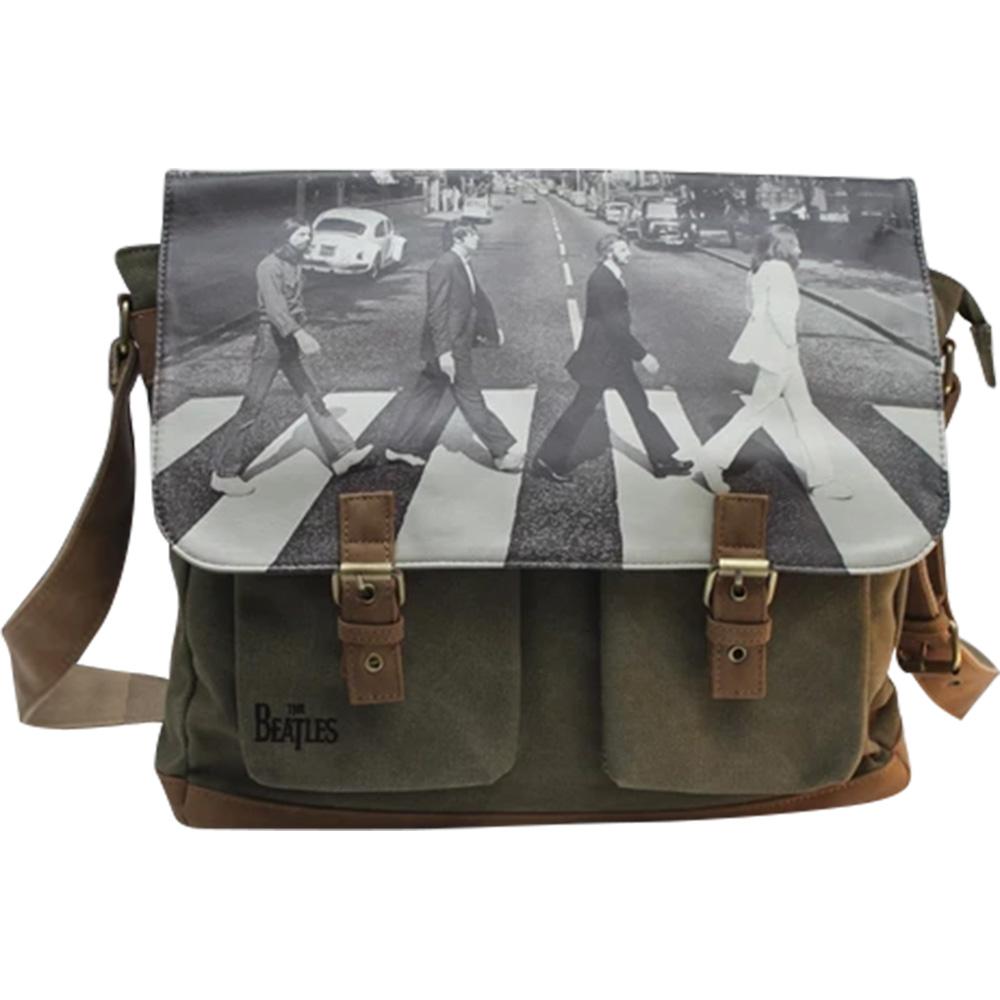 BEATLES ビートルズ (映画『The Beatles:Get Back』公開決定 ) - ABBEY ROAD GREEN SATCHEL / Disaster (U.K.ブランド) / バッグ 【公式 / オフィシャル】