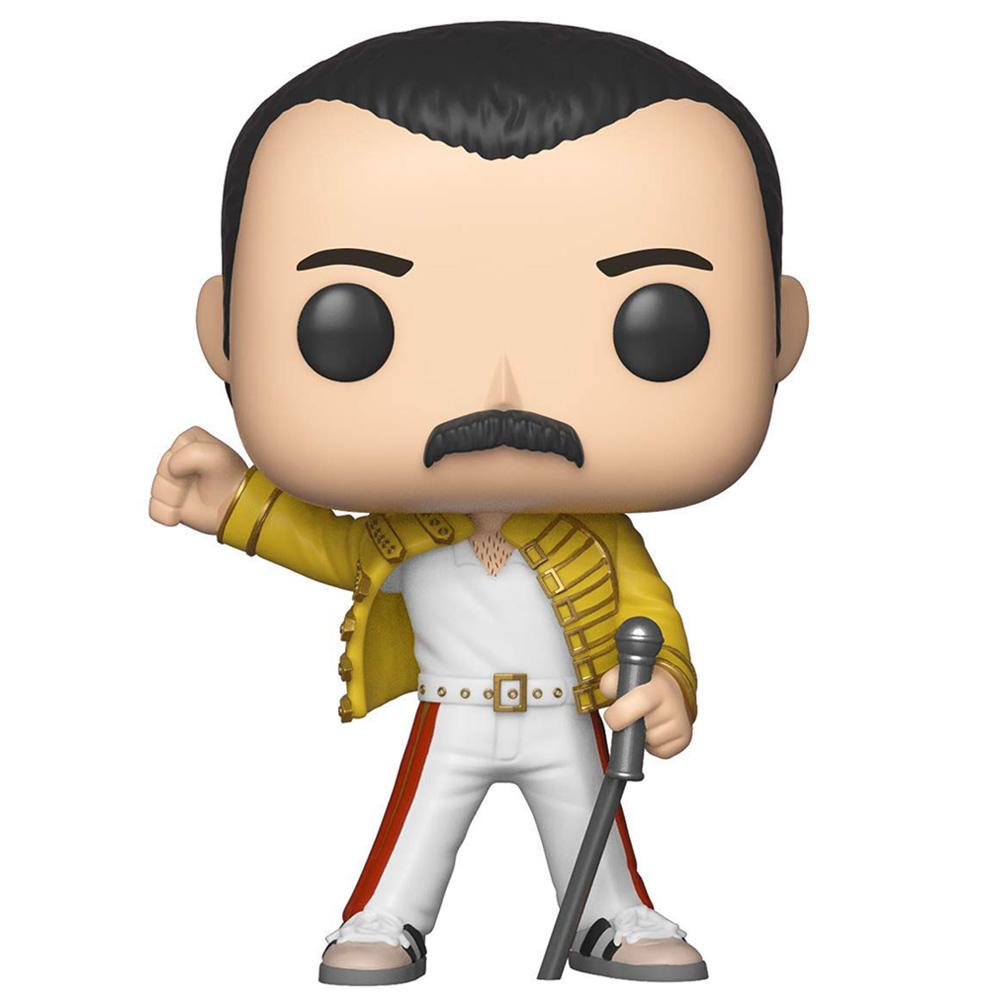 【予約商品】 QUEEN クイーン (来日記念 ) - POP! ROCKS : Freddie Mercury(Wembley 1986) / フィギュア・人形 【公式 / オフィシャル】