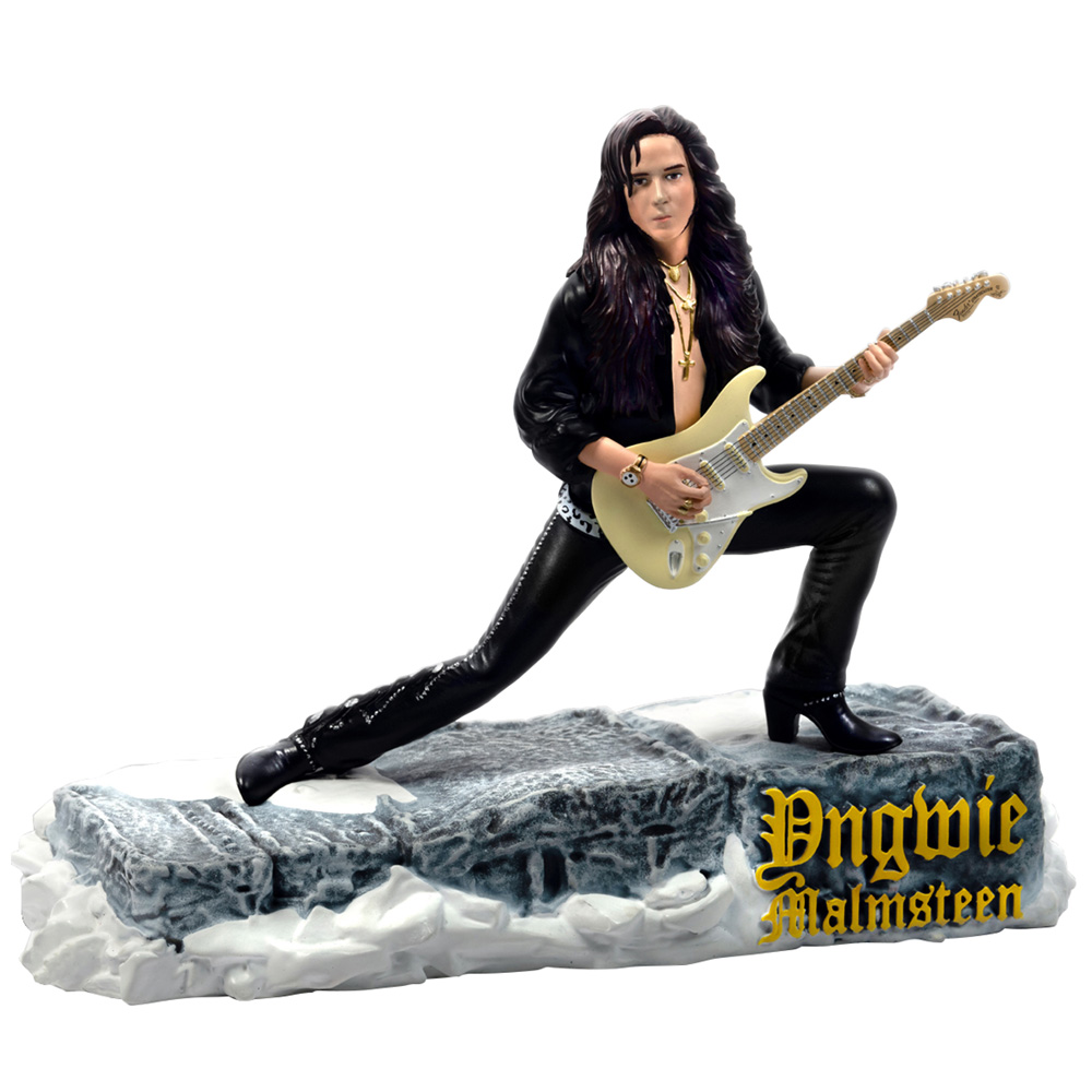 【予約商品】 YNGWIE MALMSTEEN イングヴェイマルムスティーン (新譜発売記念 ) - Rock Iconz Statue / 世界限定3000体 / フィギュア・人形 【公式 / オフィシャル】