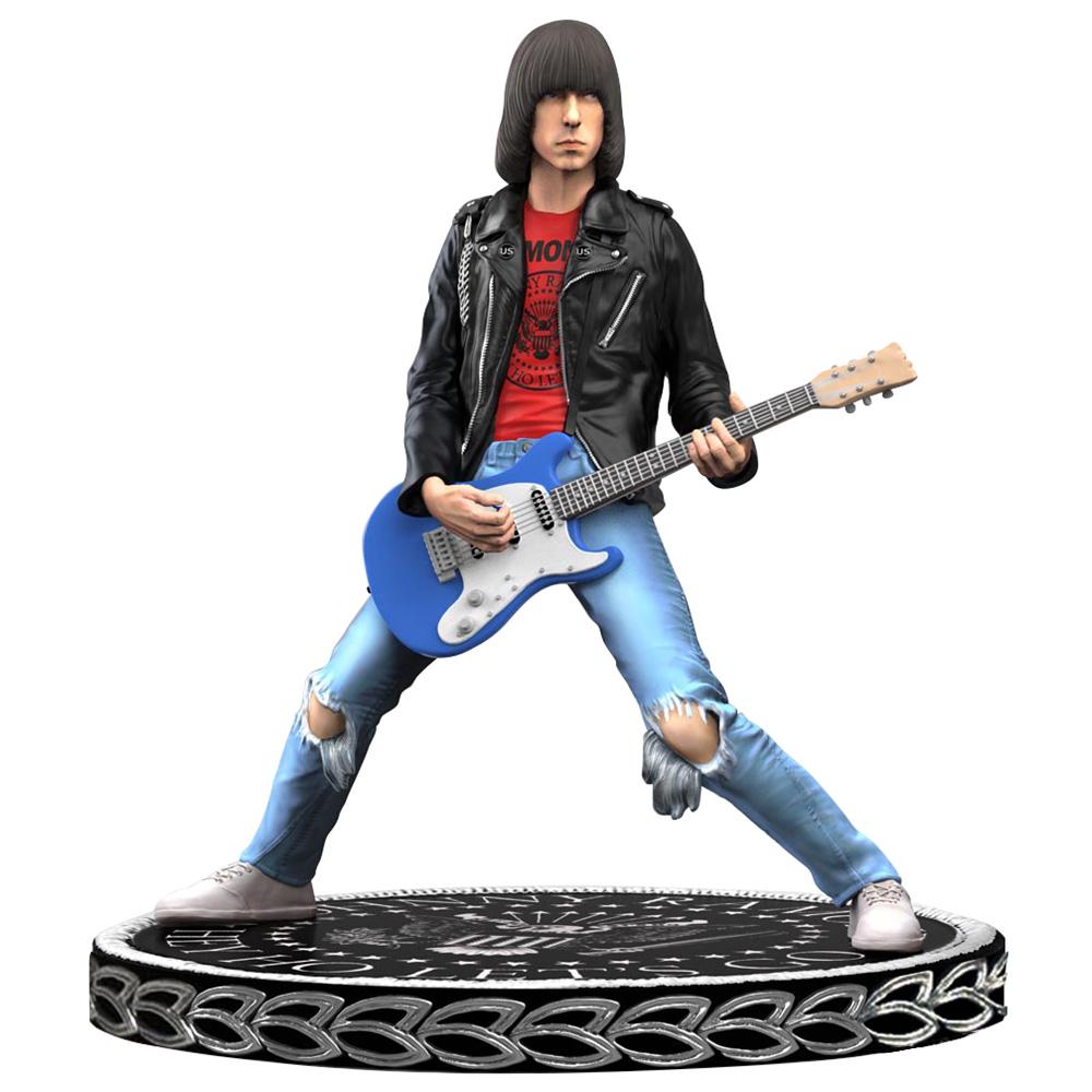 RAMONES ラモーンズ (結成45周年記念 ) - Johnny Ramone Rock Iconz Statue / 世界限定3000体 / フィギュア・人形 【公式 / オフィシャル】
