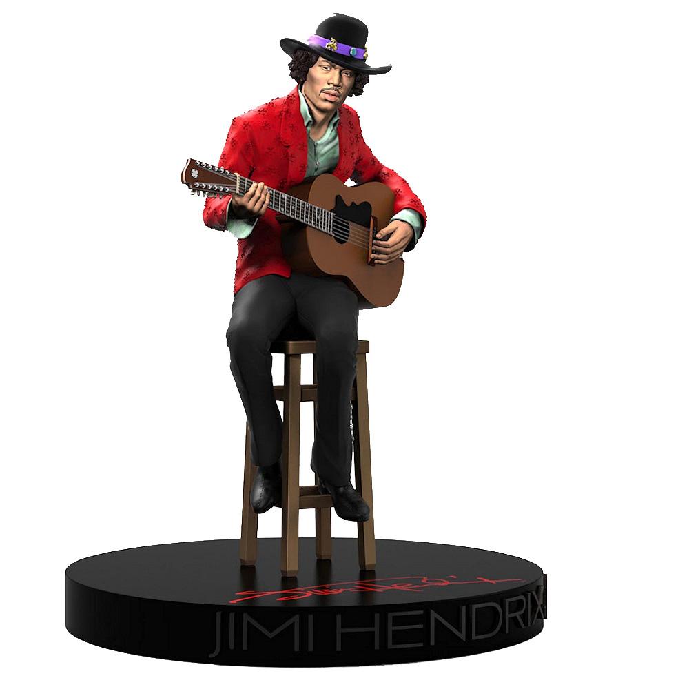 【予約商品】 JIMI HENDRIX ジミヘンドリックス (WOODSTOCK 50周年記念 ) - Rock Iconz Statue / 世界限定3000体 / フィギュア・人形 【公式 / オフィシャル】