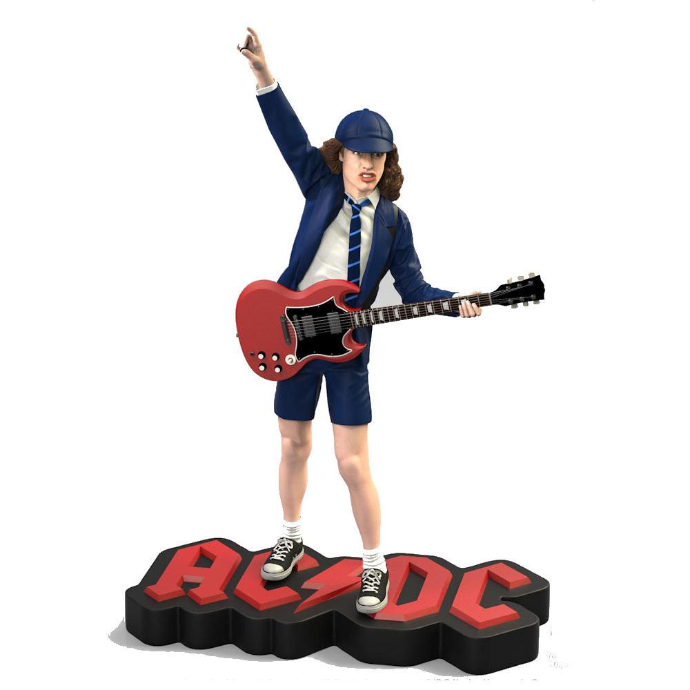 【予約商品】 AC/DC エーシーディーシー (地獄のハイウェイ40周年記念 ) - Angus Young II Rock Iconz Statue / 世界限定3000体 / フィギュア・人形 【公式 / オフィシャル】