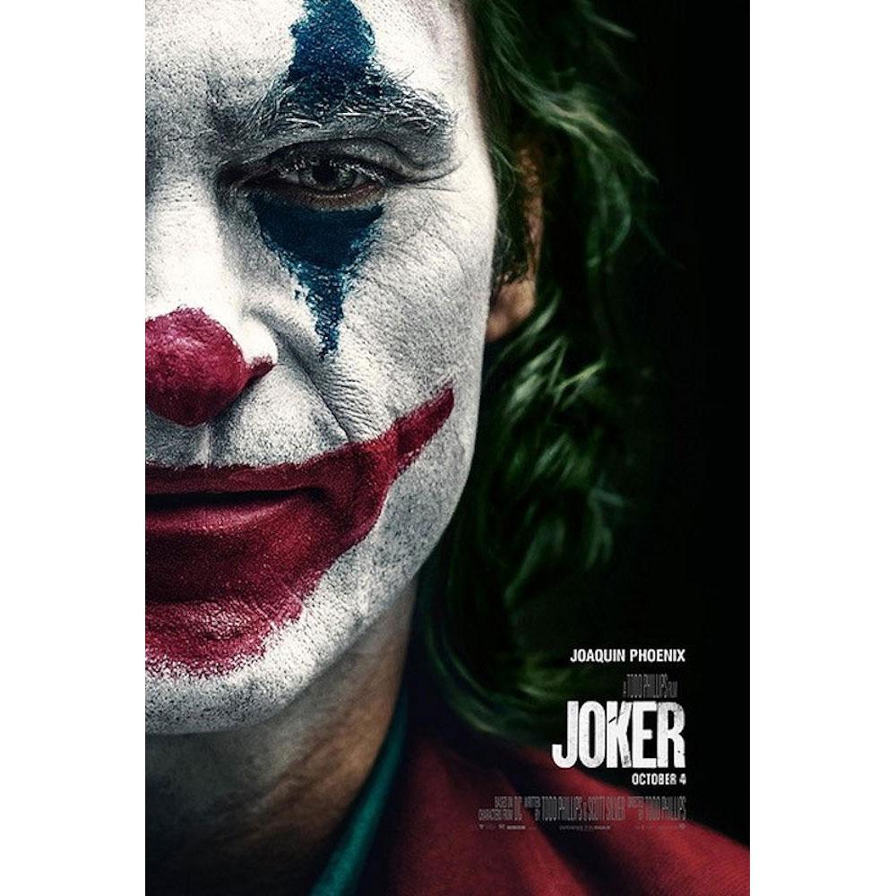 RockEntertainment公式グッズ 正規ライセンスアイテム DC COMICS DCコミックス - JOKER ポスター 本日限定 公式 Half Face オフィシャル 2019 新色追加
