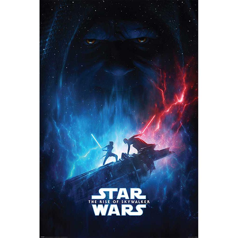 別倉庫からの配送 送料無料 激安 お買い得 キ゛フト RockEntertainment公式グッズ 正規ライセンスアイテム STAR WARS スターウォーズ - The Rise of Galactic ポスター Skywalker Encounter 公式 オフィシャル