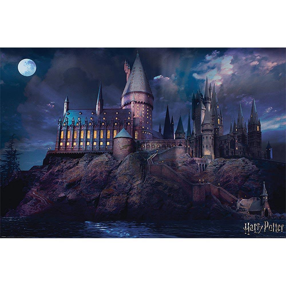RockEntertainment公式グッズ 正規ライセンスアイテム HARRY POTTER ハリーポッター 新入荷 流行 激安特価品 映画公開20周年 ポスター 公式 オフィシャル - Hogwarts
