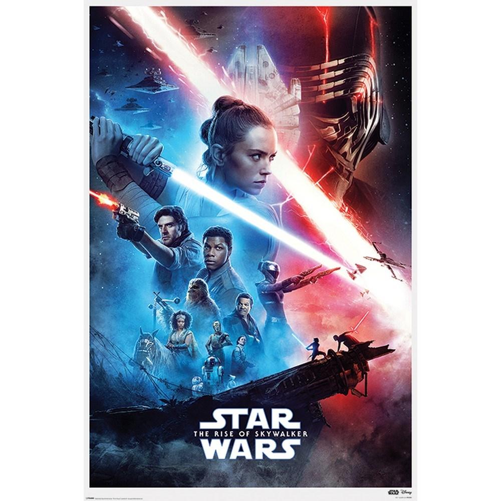 高品質 RockEntertainment公式グッズ 正規ライセンスアイテム STAR WARS スターウォーズ - タイムセール Rise ポスター オフィシャル Of 公式 Skywalker Saga