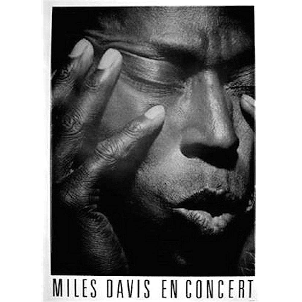 RockEntertainment公式グッズ 正規ライセンスアイテム MILES DAVIS マイルス デイヴィス 生誕95周年 お歳暮 - オフィシャル Concert ●スーパーSALE● セール期間限定 ポスター En 公式