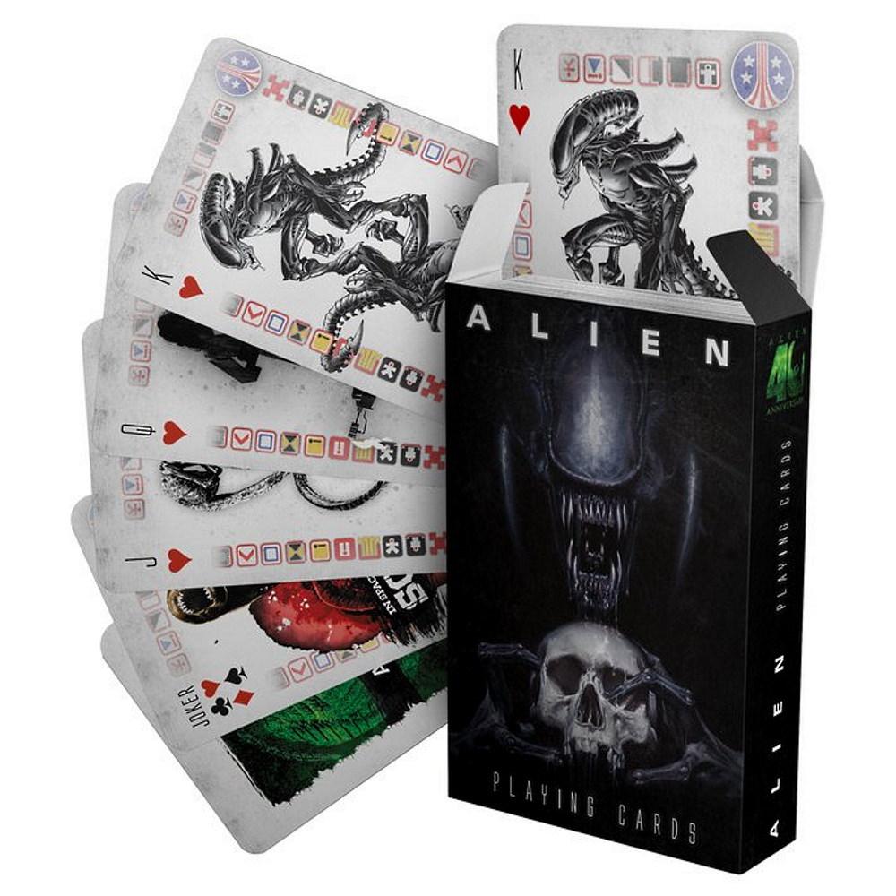RockEntertainment公式グッズ 正規ライセンスアイテム 全品送料無料 ALIEN 有名な エイリアン - Cards 公式 トランプ オフィシャル Playing