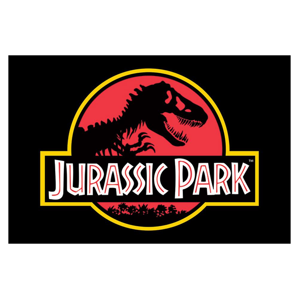 RockEntertainment公式グッズ 正規ライセンスアイテム JURASSIC 上質 PARK ジュラシックパーク - Classic 公式 Logo ポスター オフィシャル [正規販売店]