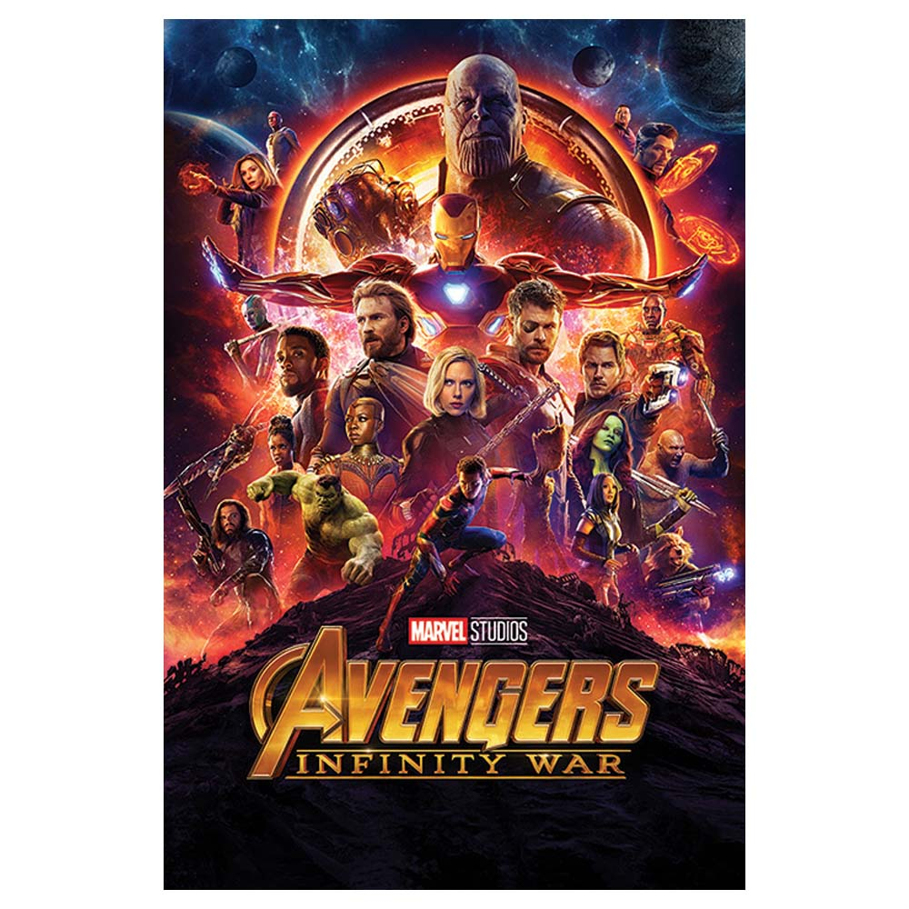 RockEntertainment公式グッズ 正規ライセンスアイテム 人気上昇中 限定価格セール AVENGERS アベンジャーズ - Infinity オフィシャル Sheet ポスター War 公式 One