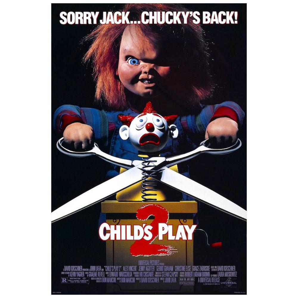 RockEntertainment公式グッズ 正規ライセンスアイテム CHILD'S PLAY (人気激安) チャイルドプレイ - Sorry Chucky's Back ポスター 公式 Jack オフィシャル 日本未発売