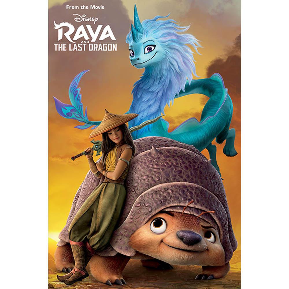 RockEntertainment公式グッズ 休み 正規ライセンスアイテム RAYA AND THE LAST DRAGON まとめ買い特価 Sunset ラーヤと龍の王国 オフィシャル 公式 ポスター -