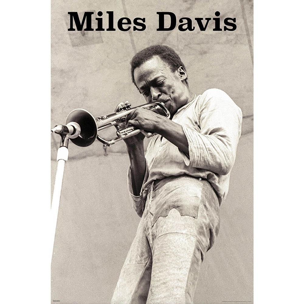 RockEntertainment公式グッズ 正規ライセンスアイテム MILES 信頼 DAVIS マイルス デイヴィス オフィシャル - 毎日続々入荷 生誕95周年 Trumpet 公式 ポスター