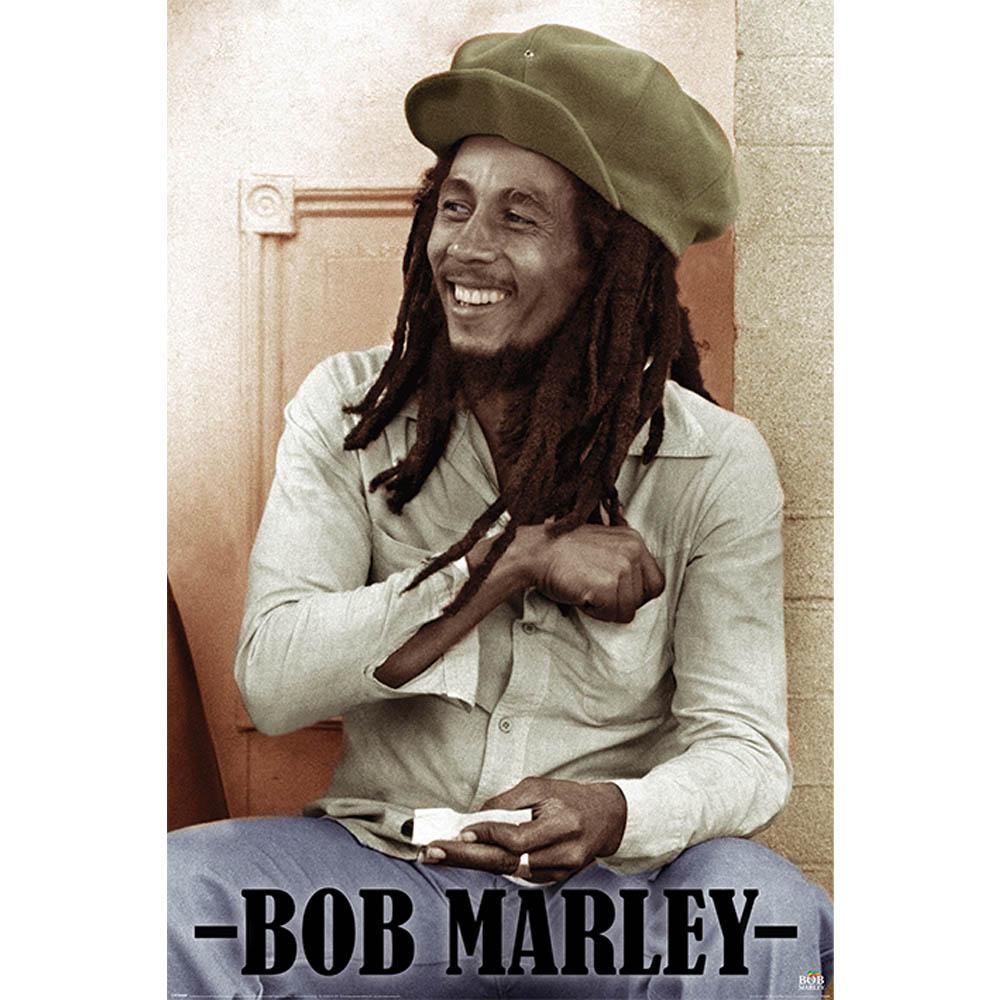 営業 RockEntertainment公式グッズ 正規ライセンスアイテム BOB MARLEY ボブマーリー 追悼40周年 オフィシャル ポスター 付与 Rolling Papers 公式 -