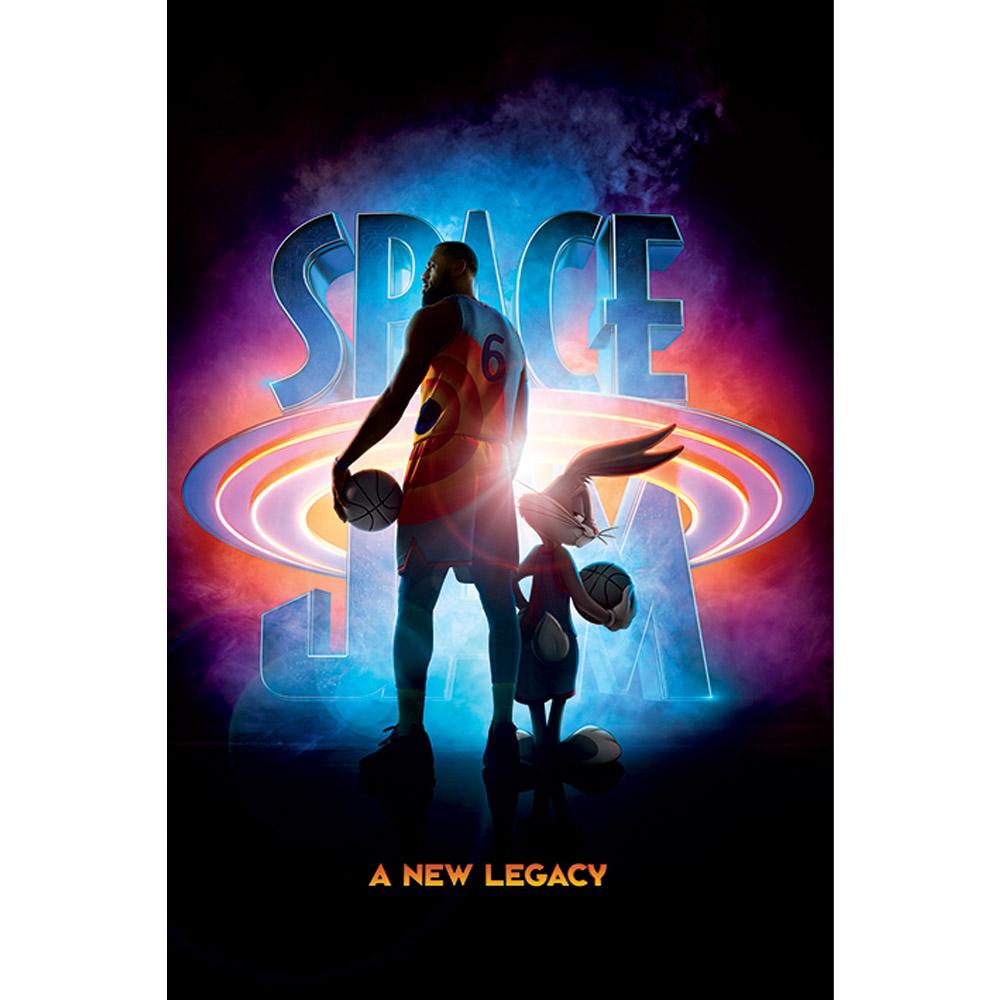 お得 RockEntertainment公式グッズ 販売 正規ライセンスアイテム 予約商品 SPACE JAM スペースジャム - オフィシャル ポスター Legacy 公式