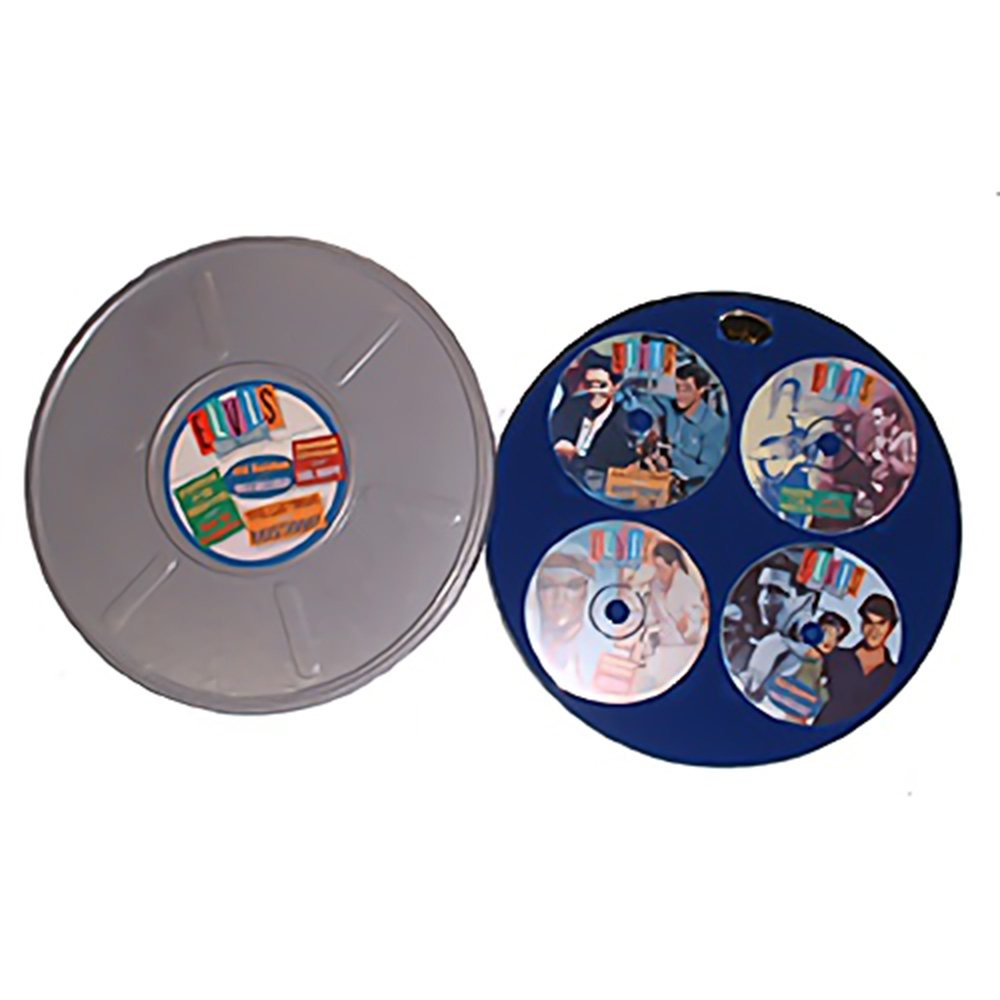 ELVIS PRESLEY エルヴィスプレスリー - Double Features 4xCD Boxset Film Canister / CD・DVD・レコード