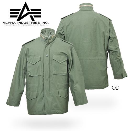 ALPHA M-65フィールド・ジャケット【アルファ インダストリーズ FIELD JACKET】メンズ ミリタリー カジュアル 定番 ARMY アーミー