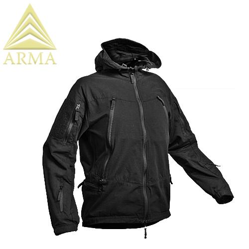 究極のバトルジャケットここに現る ARMA タクティカル ディメンション・ジャケット 【BLACK】【アルマ TACTICAL DIMENSION JACKET ブラック】メンズ ミリタリー サバイバルゲーム サバゲ アウトドア マウンテン リーコン